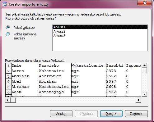 Microsoft Access 2003 Kurs Online