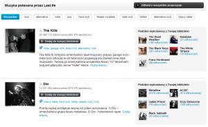 Last.fm Muzyczne Rekomendacje (jak korzystać z serwisu)